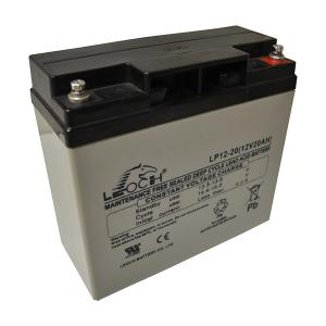 LEOCH SOLAR BATTERY - 12V - 20AH