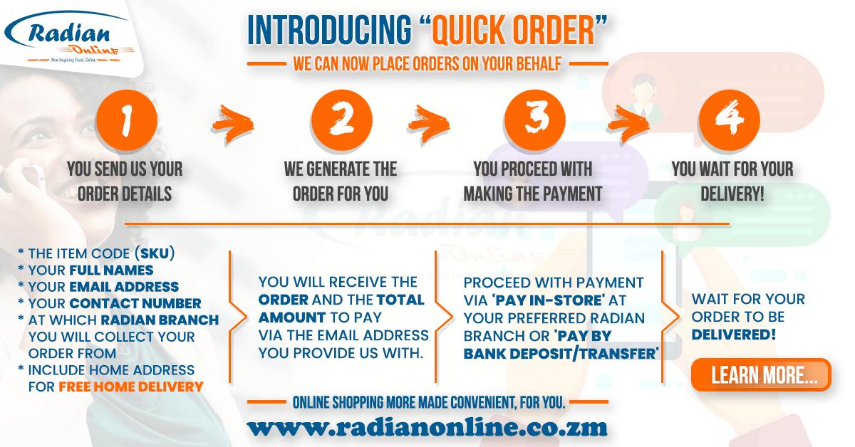 Introducing Quick Order