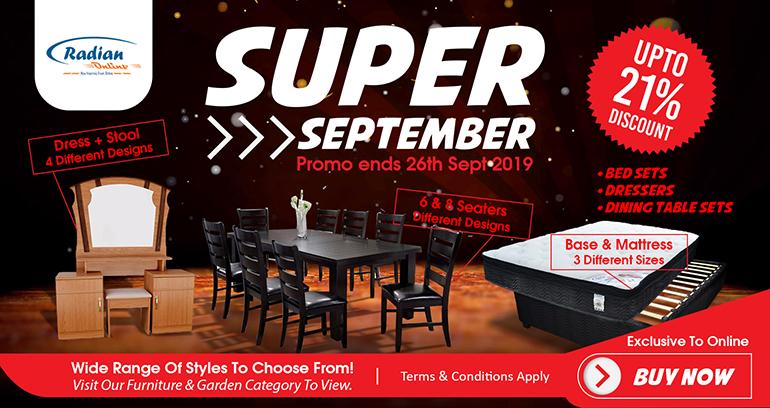 Super September Sale